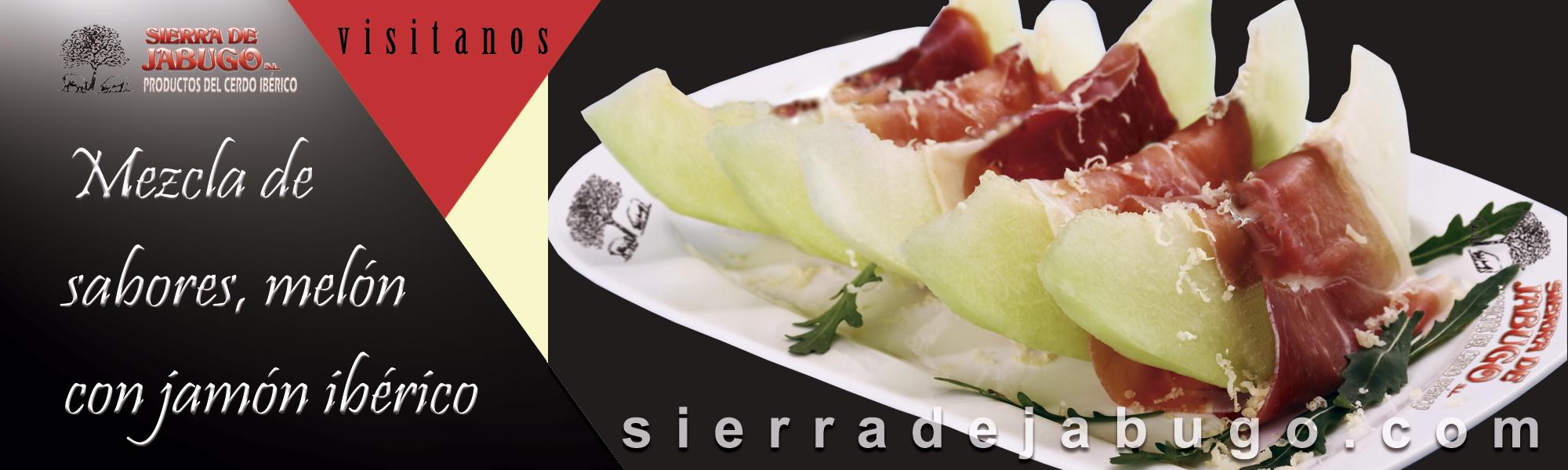 melon with Iberian ham