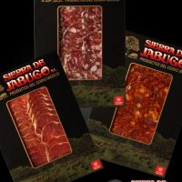 Iberian cured meats sliced