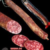 Iberian cured sausage Salchichón